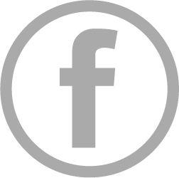 Facebook Icon Grijs